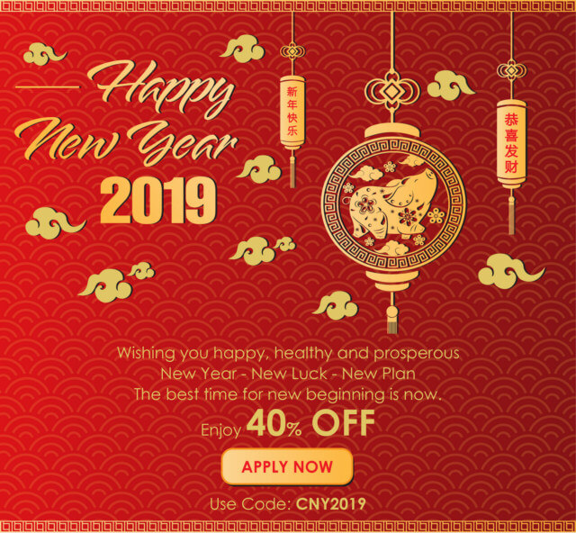 Chinese new year: a blessing for everyone!